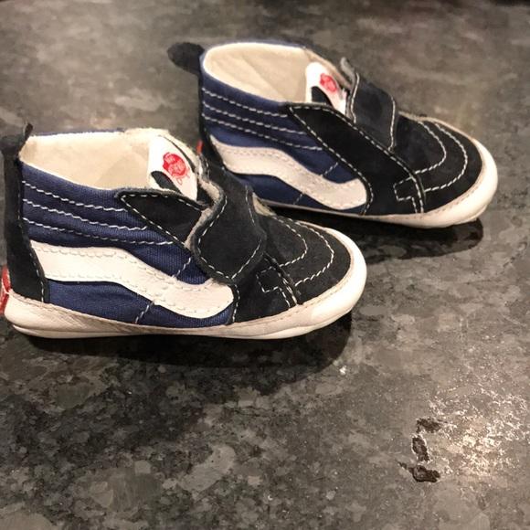 Vans Shoes   Vans Baby Sk8hi Crib Euc
